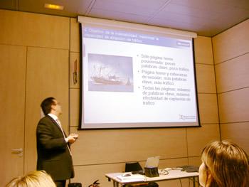 Fernando Maciá, en el Desayuno entre Empresas de Microsoft, 2007