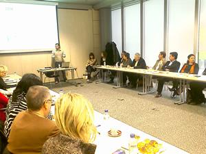 Desayuno de colaboradores en Microsoft España
