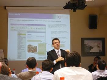 Fernando Maciá en Curso de Posicionamiento en Buscadores