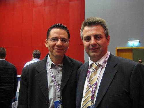 Carlos Chacón y Fernando Maciá en SMX Madrid 2008