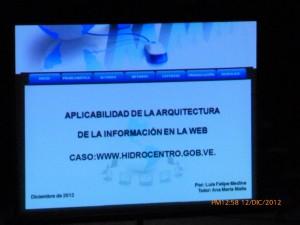 Presentación de Arquitectura de la Información